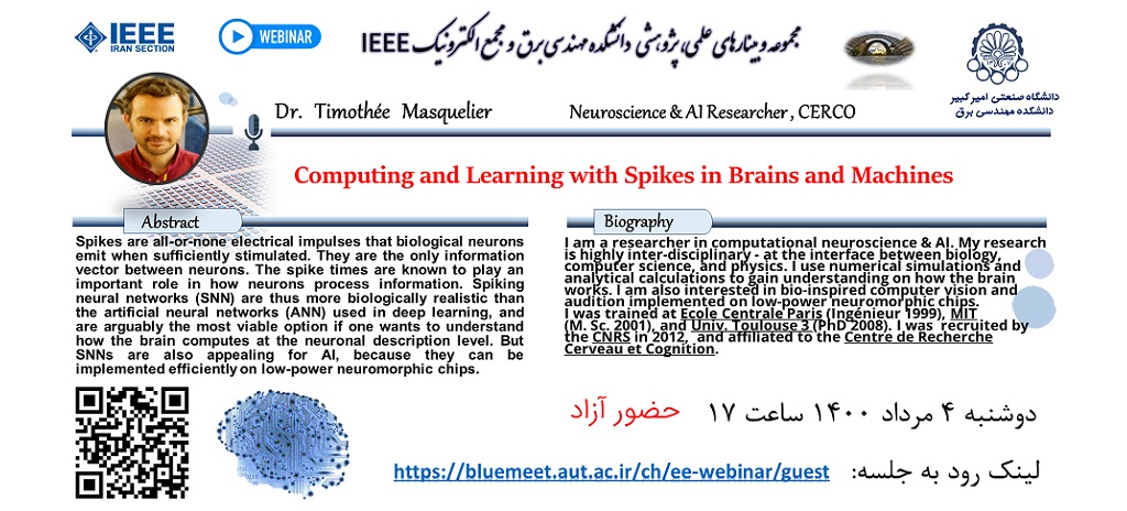 Computing and Learning with Spikes in Brains and Machines