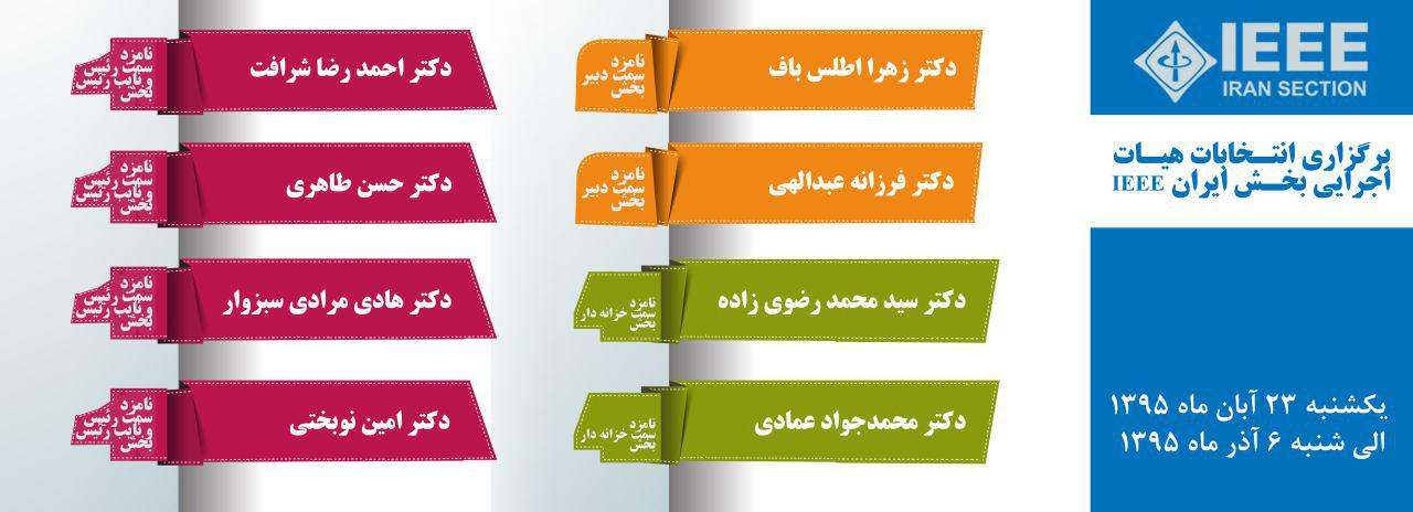 IEEE Iran Section Election 2016