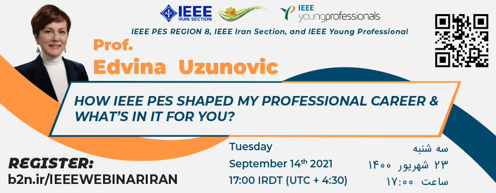 How IEEE PES shaped my professional career & what's in it for you?
